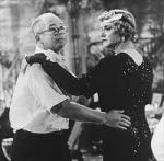 Billt Wilder practices his tango with Jack Lemmon